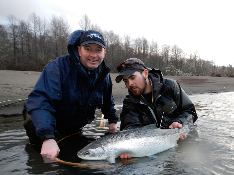 Forks washington fly fishing guide olympic peninsula wa for Fishing in seattle washington