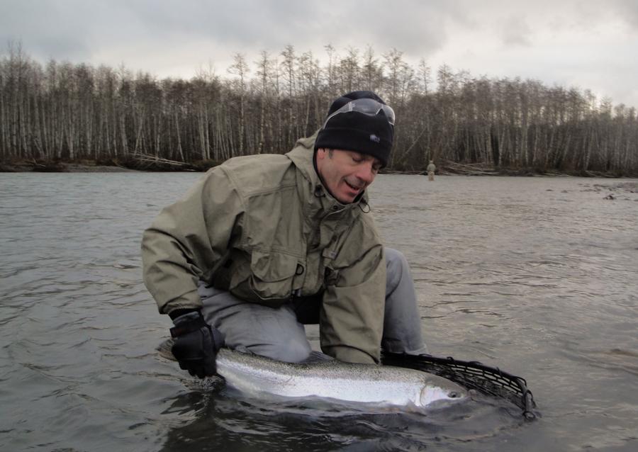 Washington winter steelhead fly fishing guide forks wa for Trout fishing washington