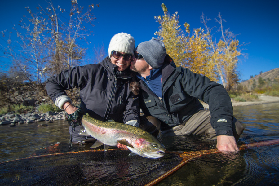 Washington Fly Fishing Guide Methow River Steelhead
