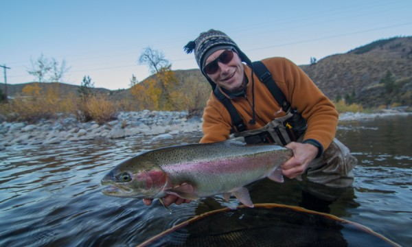 Methow River Steelhead Fly Fishing Wa Fly Fishing Guide