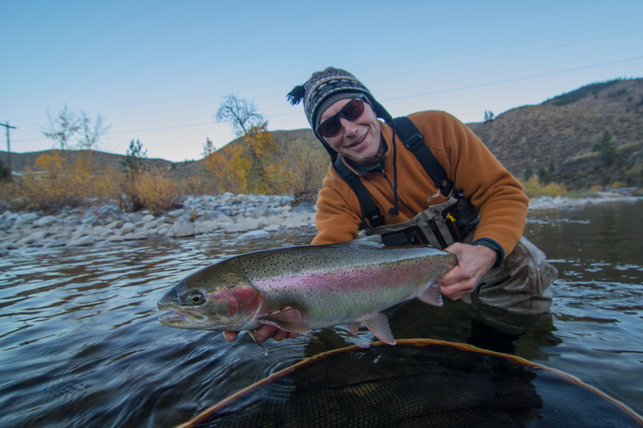 Methow river fly fishing wa steelhead fly fishing guide for Fishing in seattle washington