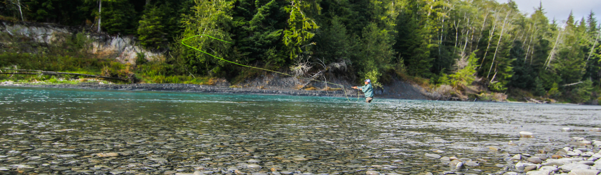 Washington steelhead fly fishing guide - Olympic Peninsula - Forks WA