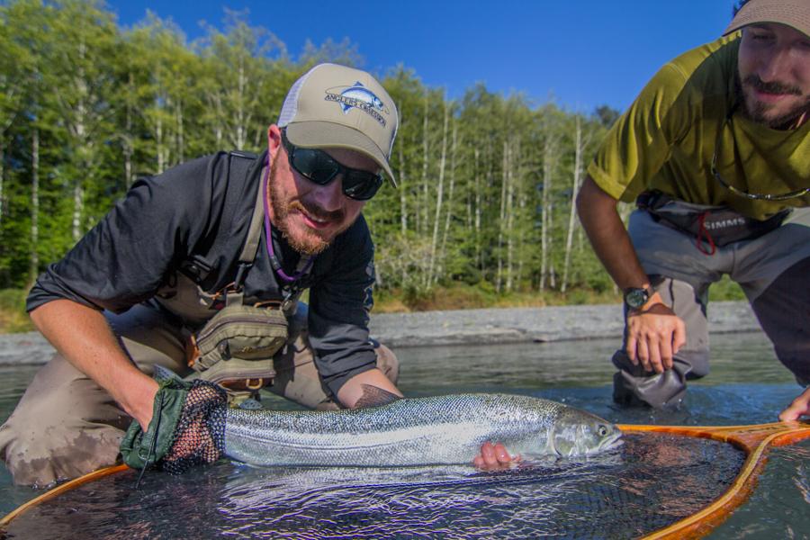 Summer Steelhead Fly Fishing - Forks Washington - Olympic Peninsula