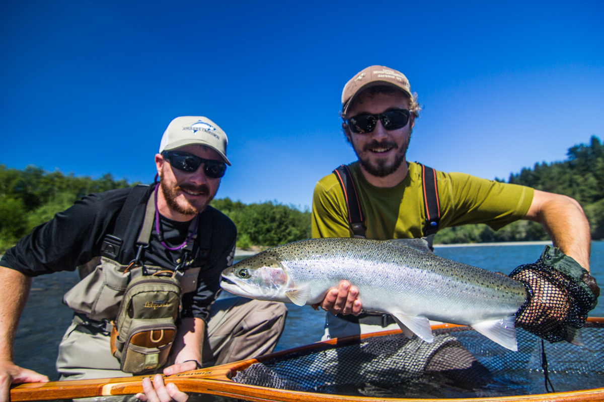 Washington Summer Steelhead Fly Fishing Guide, Forks Washington Summer Steelhead fly fishing, Olympic Peninsula Steelhead