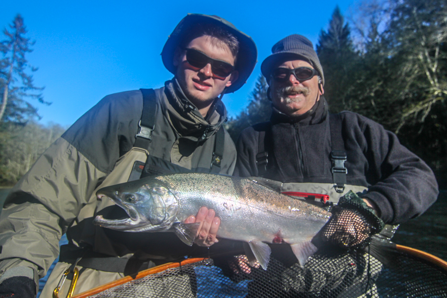 The silvers keep coming olympic peninsula 11 18 14 for Fishing in seattle washington