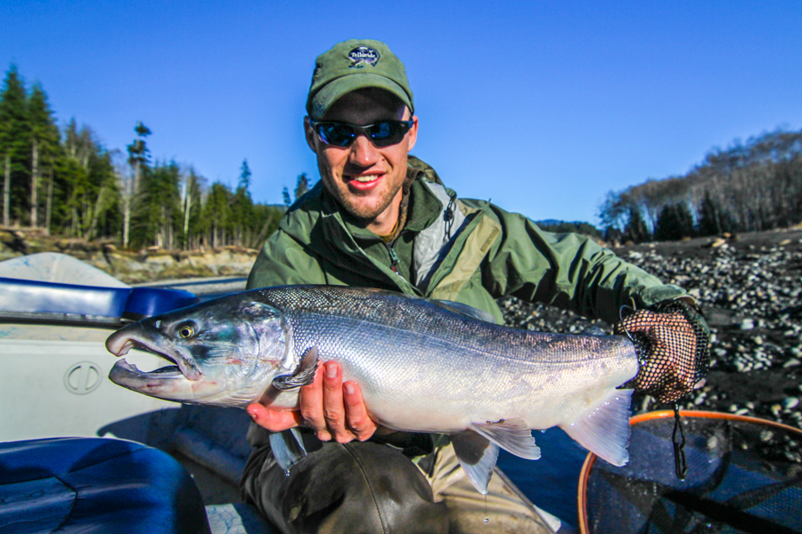 The silvers keep coming olympic peninsula 11 18 14 for Salmon fishing season washington
