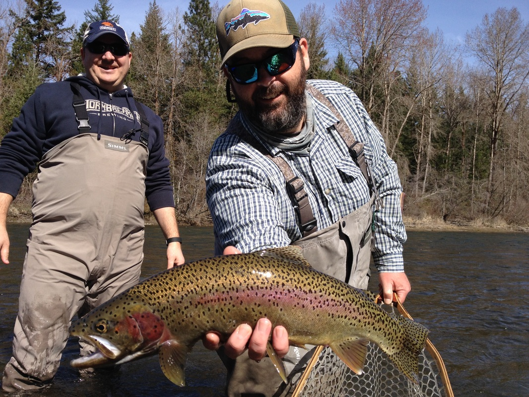 Fly fishing guide for White river fishing guides
