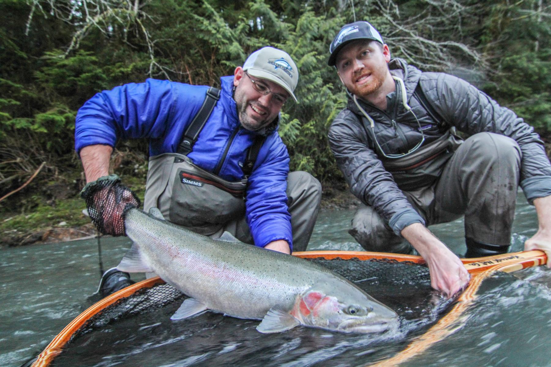 Washington Winter Steelhead Fly Fishing - Forks Washington - Olympic Peninsula Fly Fishing