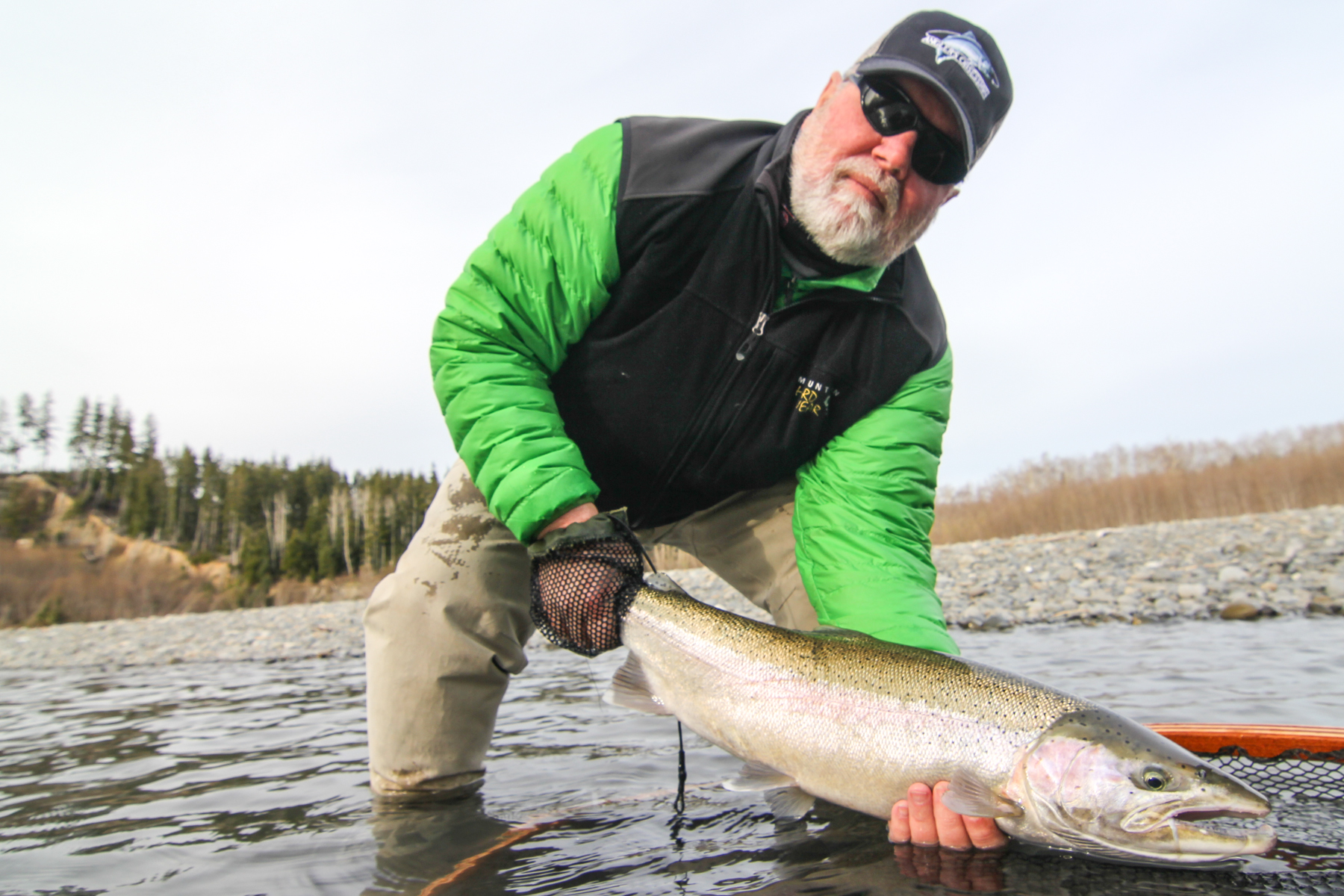 Forks washington steelhead fly fishing gallery for Fishing in seattle washington