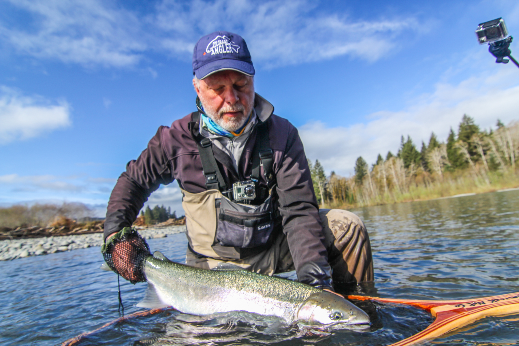 Olympic peninsula fly fishing report 3 17 15 for Fishing reports washington