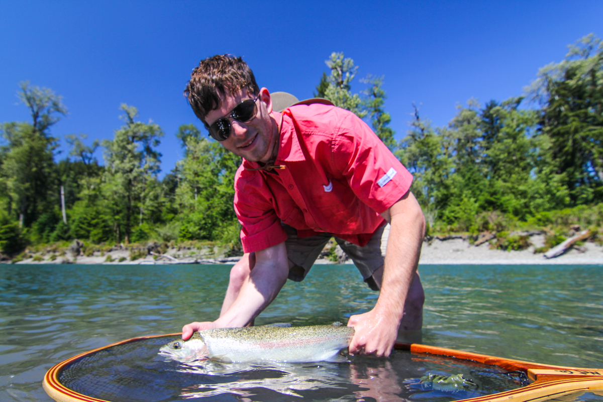 Olympic peninsula fly fishing report 6 15 15 for Seattle fishing guides