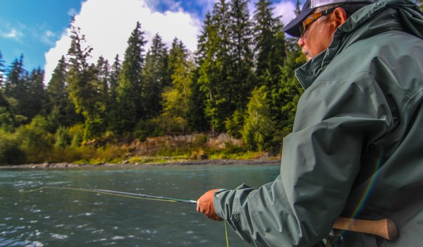 Washington Spey Casting – Spey Fishing Lessons – Forks WA