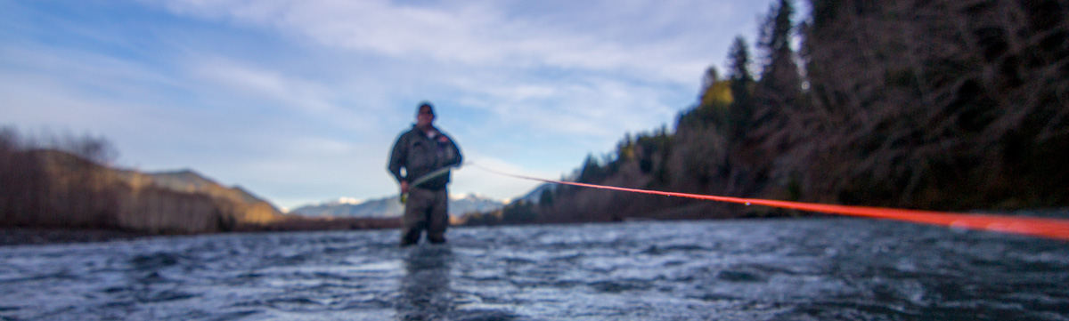 Washington Spey Casting Lessons - Spey Fishing Instruction Forks WA