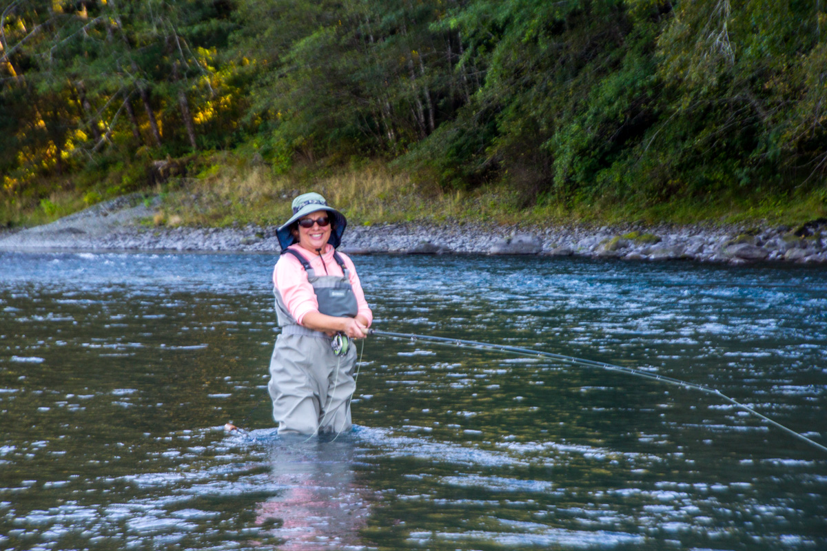 Spey lessons learn to cast and fish a spey rod effectively for Fly fishing casting