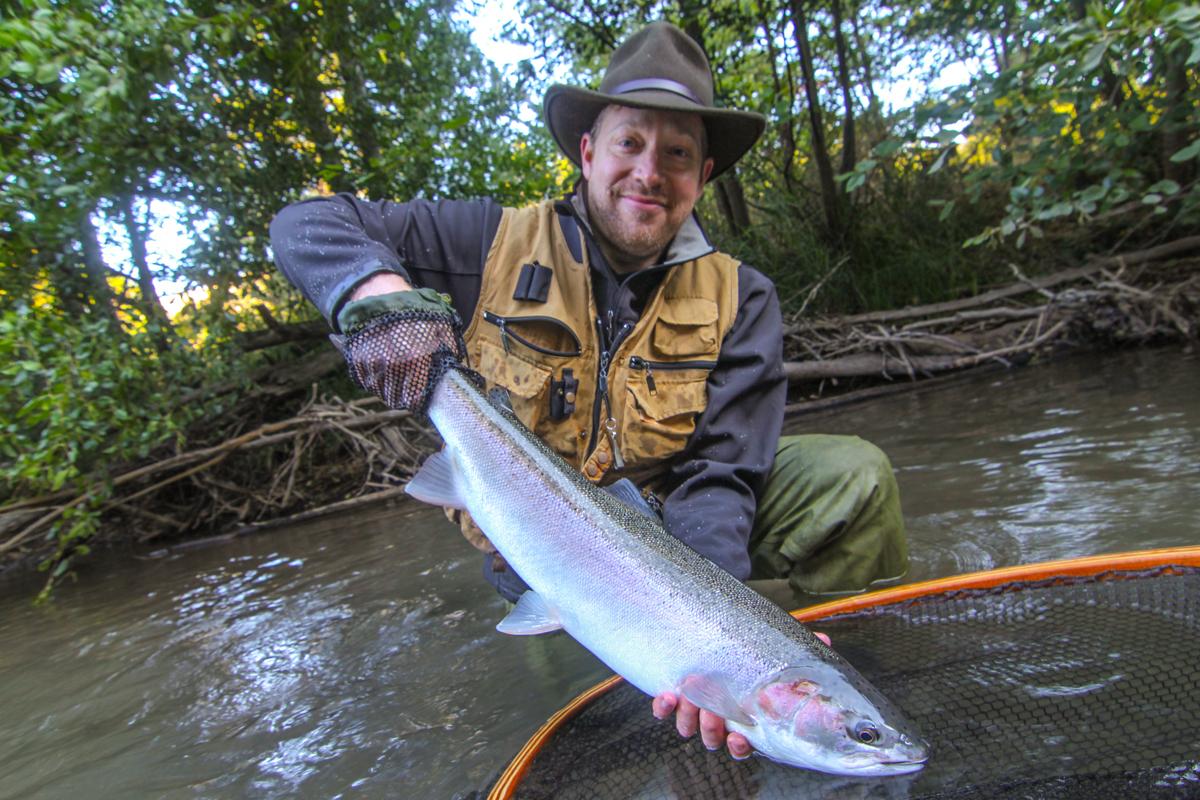 Klickitat river steelhead gallery fly fishing klickitat for Klickitat river fishing report