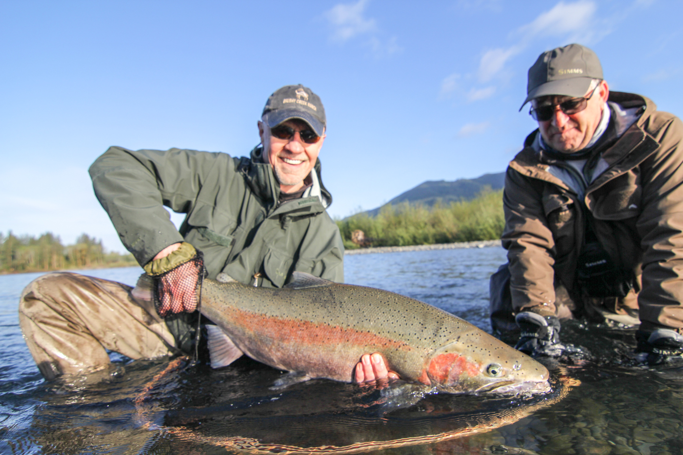 Winter steelhead fly fishing guides olympic peninsula for Seattle fishing guides