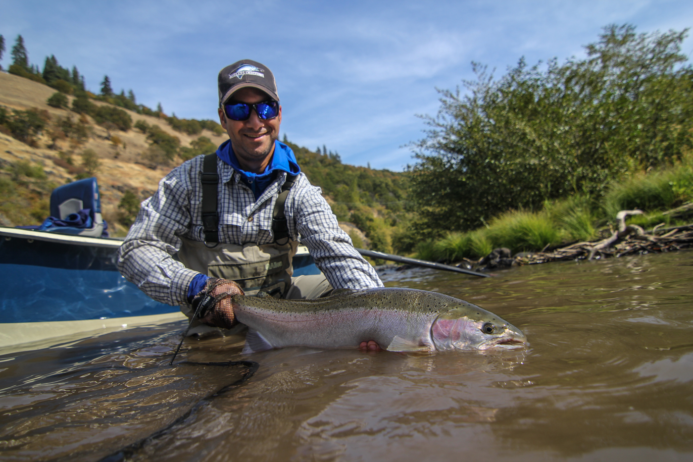 Klickitat river fly fishing report 11 1 16 for Fishing reports washington