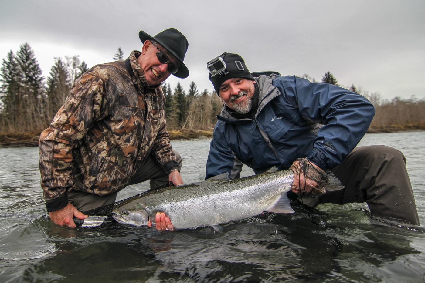 Washington State Winter Steelhead Fly Fishing - Forks Washington Fly Fishing - Seattle WA Fly Fishing Guides